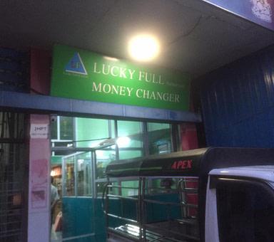 Lucky Full Money Changer